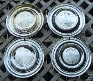 1958 58 Pontiac Hubcaps Hub Caps Hubcap Wheel Covers