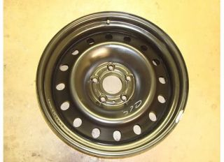 Dodge RAM 1500 Spare Steel Wheel Rim 02 08 Tire Black 2166 Hemi