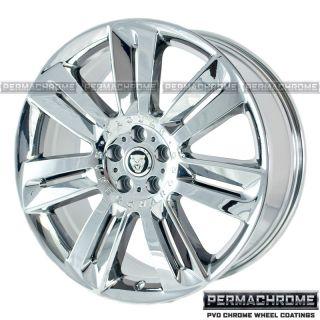 Jaguar XF Nevis 20 Chrome Wheels Rims Permachrome Exchange