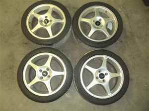 Ford Focus SVT 17 Wheels Rims w Tires Set 4