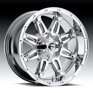 18 Fuel Hostage Chrome 355 65 18 Nitto Terra Grappler At