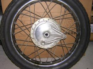 Honda CB350 SL350 CL350 Rear Wheel Rim Hub K2 K3 K4