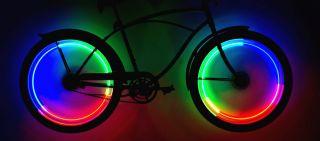 Rimfire LED Bicycle Wheel Safety Lights Spoke Rim