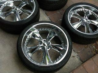 FOOSE Nitrous Wheels Tires Rims Pirelli Brand New 20 22 Chevy 5x5