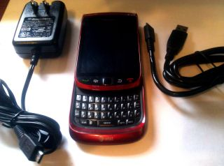 New Rim Blackberry Torch 9800 Unlocked Red Color