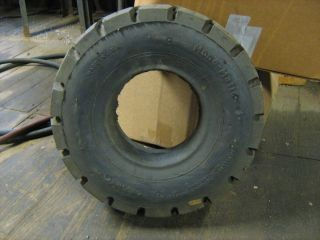 pair of 5 00x8 solid pnuematic tire rim width 4 50 forklift lift truck