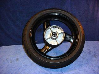 Wheel Rim Rear Tire Bridgestone Battlax Honda CBR1100XX Blackbird A1