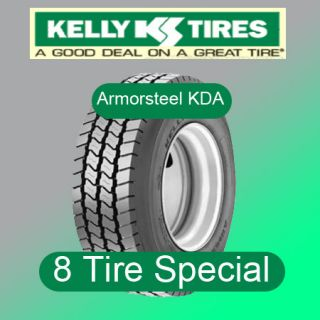 Tires Kelly Armorsteel KDA 295 75R22 5 Semi Truck Tires