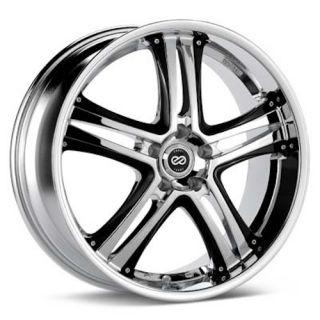 Enkei akp Chrome 18x8 5x114 3 40 Luxury Series Wheel Rim