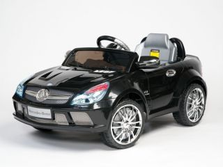 Benz Power Ride on SL65 AMG Kids Remote Control Car Wheels BK