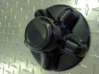 Black Trailer Wheel Hub Cap Covers Sharp 8 15