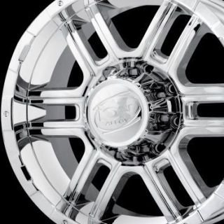 17 ion 179 Wheels Rims Chrome Ford F250 F350 Excursion