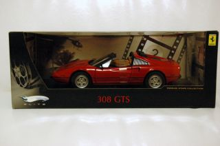 18 Hotwheels Elite Ferrari 308 GTS Red Targa Top Magnum P I Car
