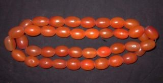 17 Tibetan Buddhist Agate Carnelian Prayer Beads Mala