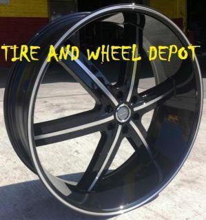 22 inch U255B Rims and Tires Colorado Canyon Savana Safari