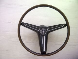 1970 Ford Mustang Mach 1, Boss 302, Shelby Rim Blow Steering Wheel