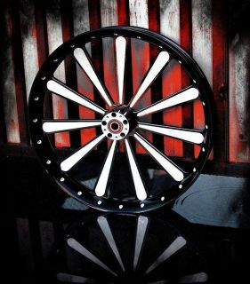 26 inch Custom Motorcycle Wheel for Harley Davidson Bagger Elliptical