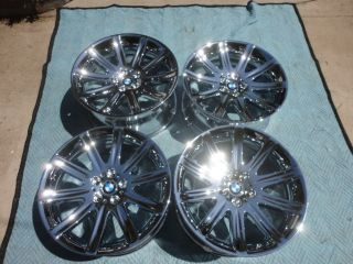 New 19 BMW 745i 745LI 750i 750LI Chrome Wheels Rims