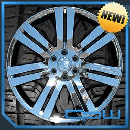 CADILLAC ESCALADE CHROME PLATED WHEELS RIMS TIRES PACKAGE MARCELLINO