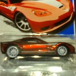 Hot Wheels Super Treasure Hunt 09 Corvette ZR 1 T Hunts Secret Kmart