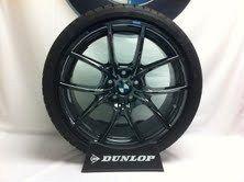 BMW V Spoke 356 Liquid Black Wheel and Tire Set