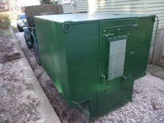 Military Truck camper Insulated Fresh Air Filter Army Marines Camper