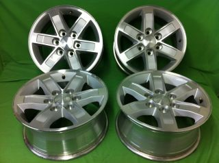 YUKON DENALI SIERRA chevy FACTORY STOCK OEM 17 WHEELS RIMS CHEVROLET
