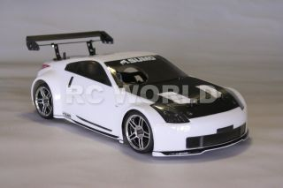 10 RC Nissan 350Z Sumo Nitro Gas Car 2 Speed RTR New 40 MPH