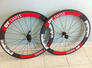 Carbon Tubular Wheel Set 56mm Carbon Rims Campy Cassette Body