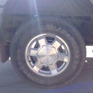 GMC Sierra 17 Alloy Wheels and 265 70R17 Tires