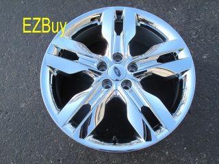 20 Ford Edge 2011 12 Factory Chrome Clad Wheel Rim 3847 120501