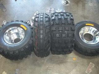 TRX 300EX Front Rear Aluminum Wheels Tires 21x7 10 20x10 9