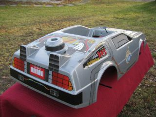 NOS Delorean Back To The Future Electric Ride On Car Like Power Wheels