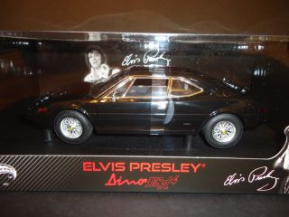 Hotwheels Elite Ferrari Dino 308 GT4 Black 1 18 Elvis Presley Limited