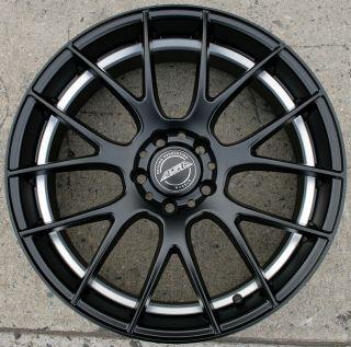 ASA GT5 20 Black Rims Wheels Mustang V6 V8 05 Up 20 x 8 5 5H 32