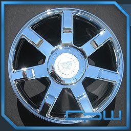 Escalade ESV Ext 22 inch Chrome Wheels Rims Set Tahoe Suburban