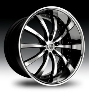 20 Lexani LSS 10 Rims Wheels Nissan 350Z 370Z Infiniti G35 Coupe Ford