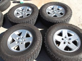17 Jeep Wrangler Wheels Tires Rims Unlimited Sahara Rubicon Sport