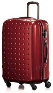 Wine Red Samsonite Pixelcube 30 Zipper Spinner Upright Wheeled
