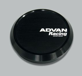Advan Center Caps Machine Silver or Black Fits All Advan Wheels