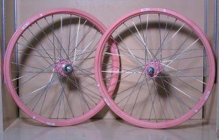 School BMX Woody Itson Signature ACS Z Wheels Z Rims Z Hubs Pink NOS