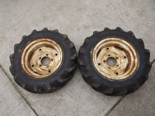 Wheel Horse Suburban Rear 6 12 Rims and AG Tires RJ 400 401 550 551