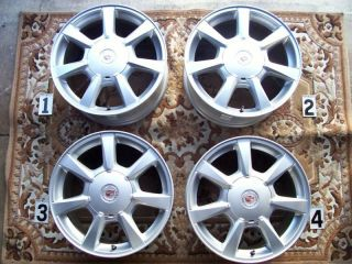 Cadillac cts DTS STS 17 Wheels Rims Stock Factory PN 9596619 Odyssey