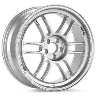 17 Enkei RPF1 Silver Rims Wheels 17x8 17x9 45 5x114 3 Honda S2000