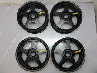 JDM Desmond Spoon Sports 17x7 35 Wheels Rims DC5 EP3 CL7 FD2 BB6 DC2