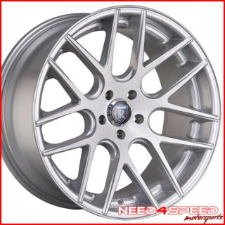 Lexus LS400 LS Rohana RC26 Concave Silver Staggered Wheels Rims