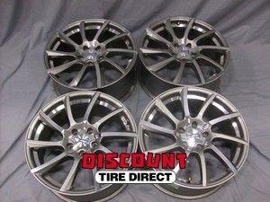 18x8 5x114 3 5x114 3 Konig Turn One Silver Machined Wheels Rims