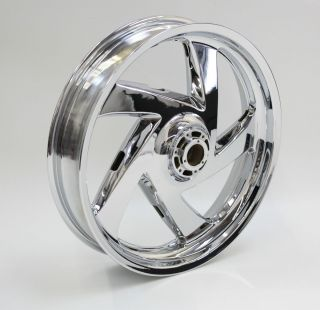 Honda GL1800 Goldwing Front Wheel Rim New Chrome Show Quality