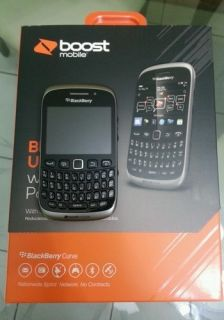 Brand New Blackberry Curve 9310 Grey Boost Mobile Smartphone