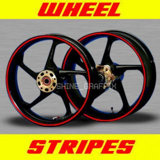 Wheels Rim Stipe Decal Tape Katana 600 750 R DRZ 400 SM GSR DRZ 400